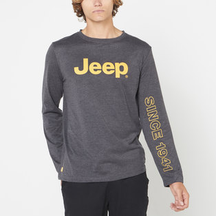LONG SLEEVE JEEP GRAPHIC TEE