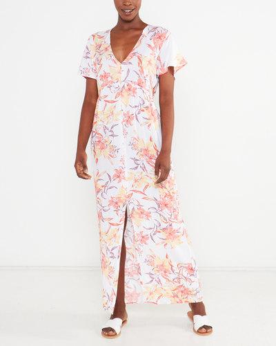 Button Up Maxi Dress