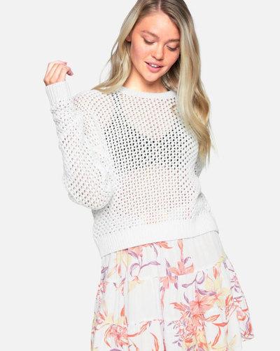 Easy Open Knit Sweater