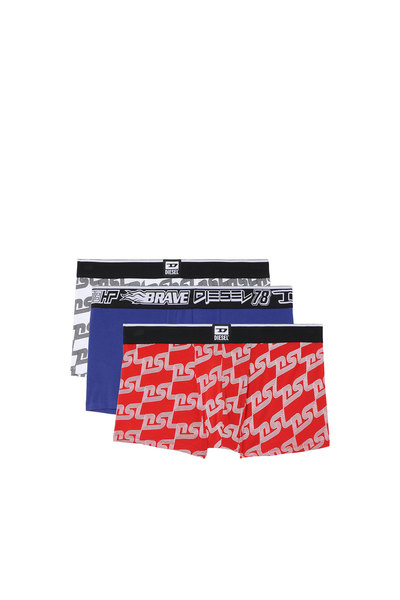 Boxer Briefs With DSL print - 3 Pack