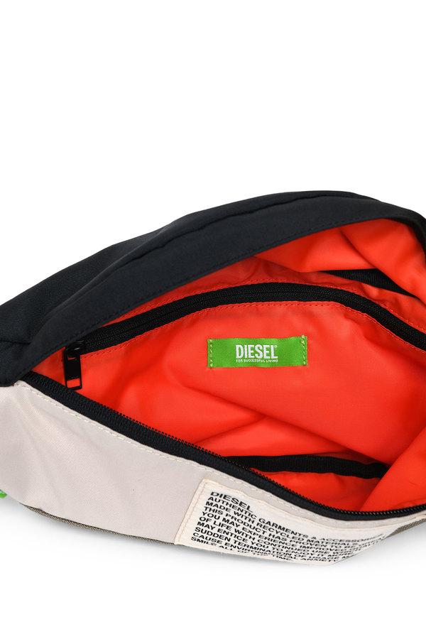 Green Label colour-block belt bag