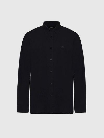 Long-sleeve shirt in cotton poplin