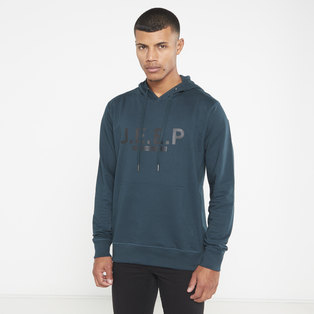 JEEP LOGO HOODED PULLOVER