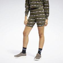 Printed Legging Shorts