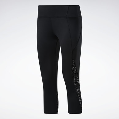 Workout Ready Run Printed Capri Leggings