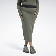CARDI B Rib Skirt (Plus Size)