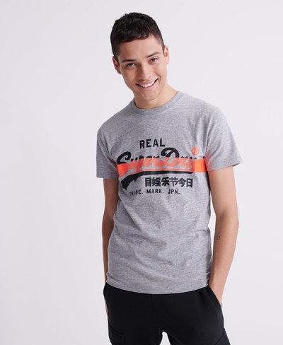 Vintage Logo Cross Hatch T-Shirt