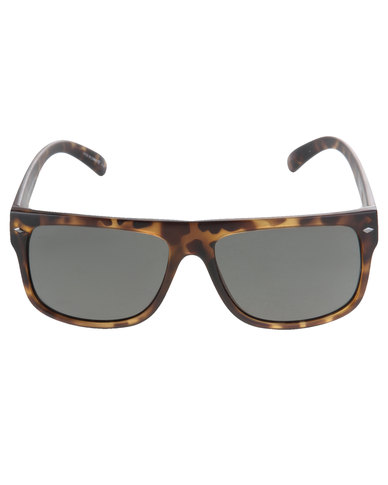 c900d4866e1 Dot Dash Sidecar Sunglasses Brown Tortoise Shell