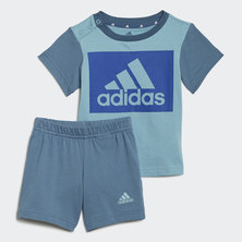 ESSENTIALS TEE AND SHORTS SET