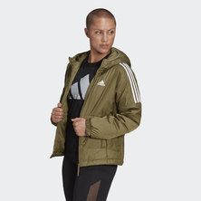 ESSENTIALS INSULATED HOODED JACKET