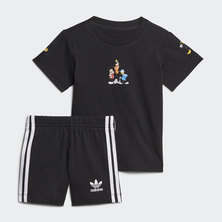 DISNEY MICKEY AND FRIENDS SHORTS AND TEE SET