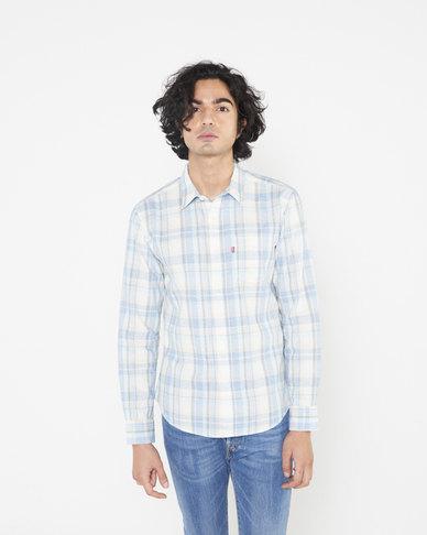 Levi's® Men's Slim Fit Sunset 1 Pocket Shirt