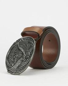 Levi's® Men's Eagle Plaque Belt