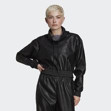 Adicolor Cropped Pleather Sweatshirt