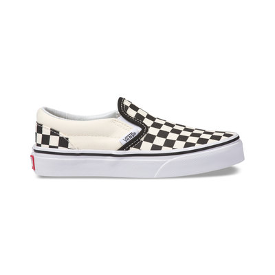 Kids Checkerboard Classic Slip-On Shoes (4-8 Years)