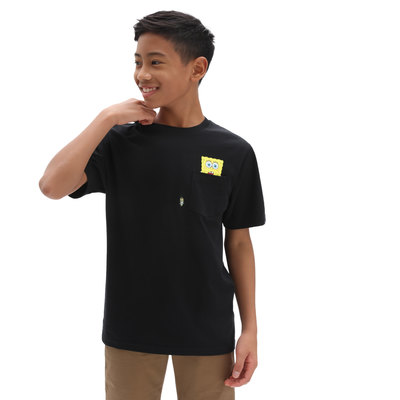 Vans X Spongebob Kids Spotlight Pocket T-Shirt