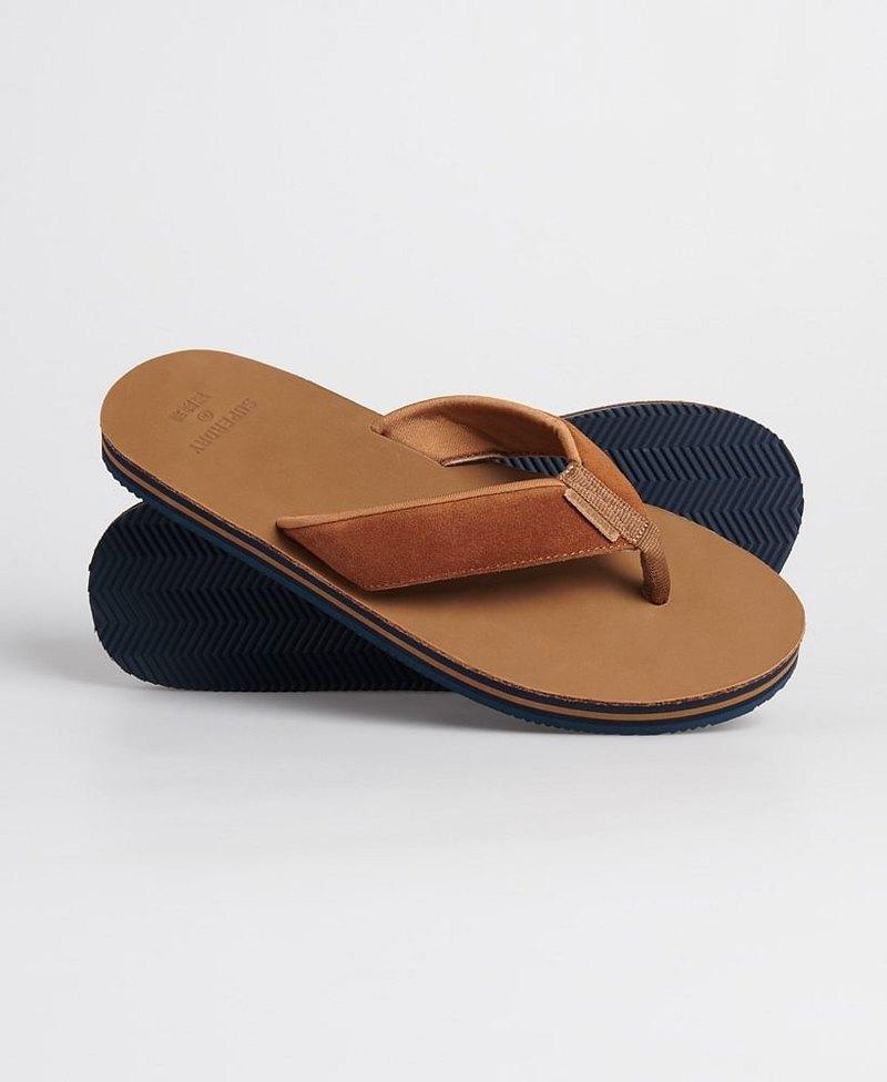 Premium Surf Leather Flip Flop