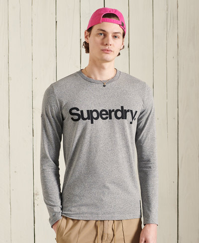 Military Long Sleeved Graphic Top