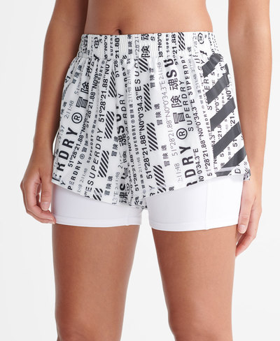 Running Double Layer Shorts