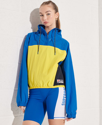 Overhead Cropped Track Jacket
