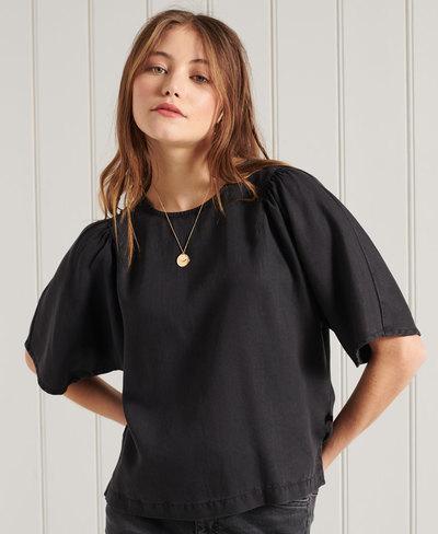 Tencel Woven T-Shirt