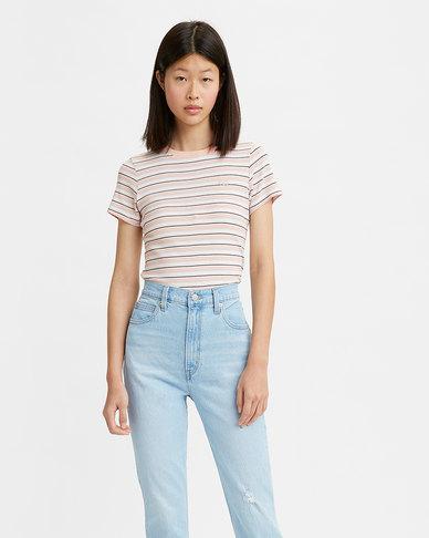 Levi's® Women's Short Sleeve Rib Baby T-Shirt