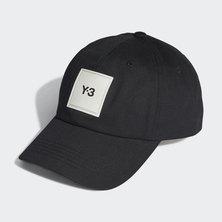 Y-3 SQUARE LABEL CAP