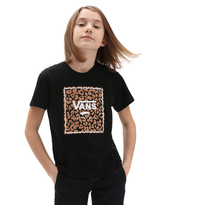 Leopard Print Box Tee