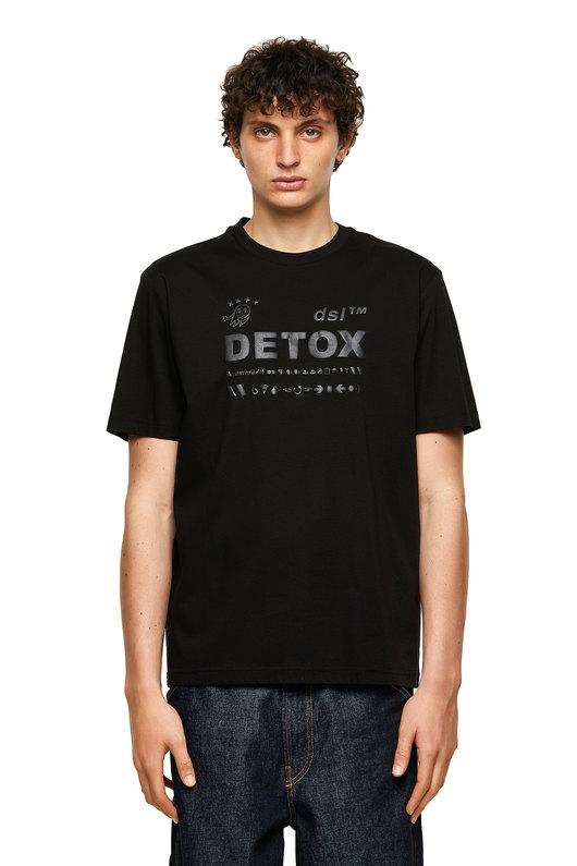 T-shirt with tonal puff print