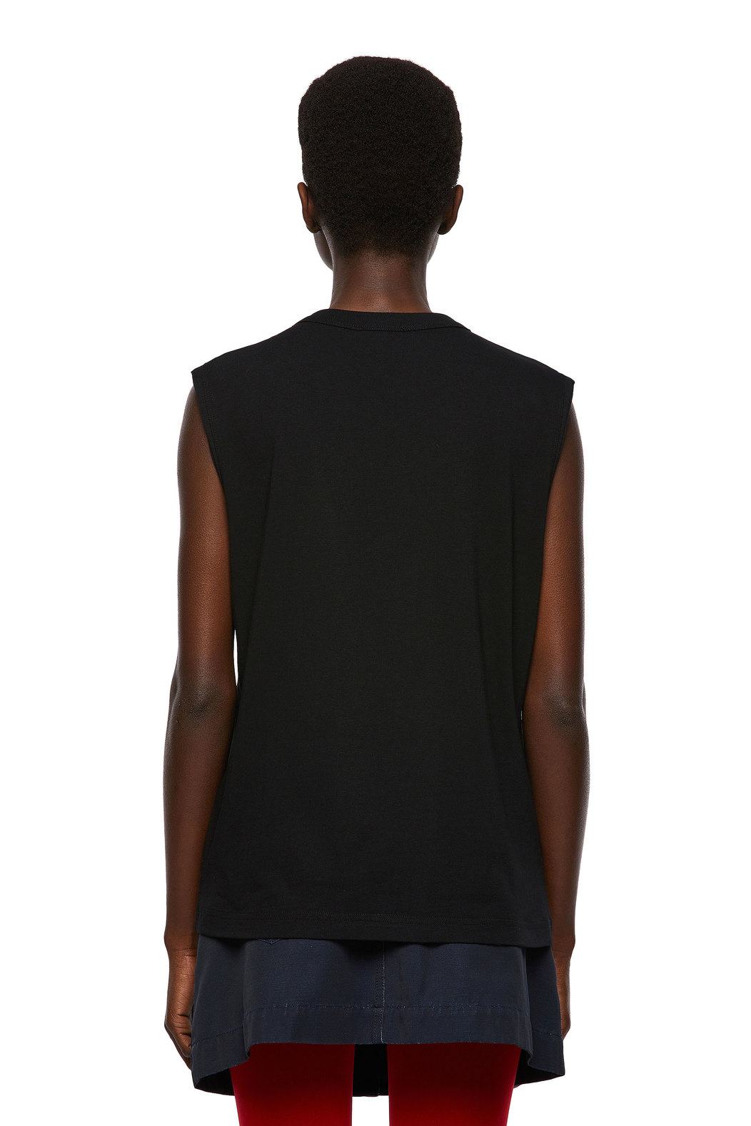 Green Label tank top with photo print