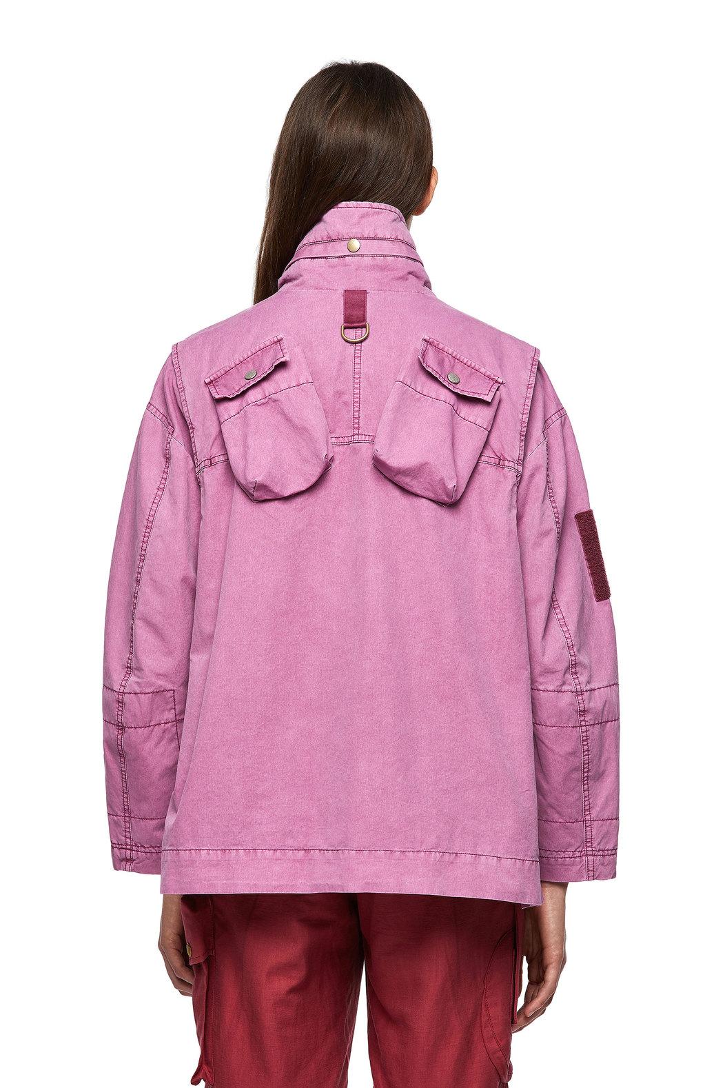 Garment-dyed field jacket