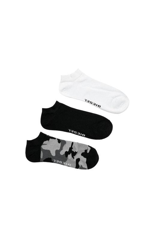 Three-pack of camo low-cut socks