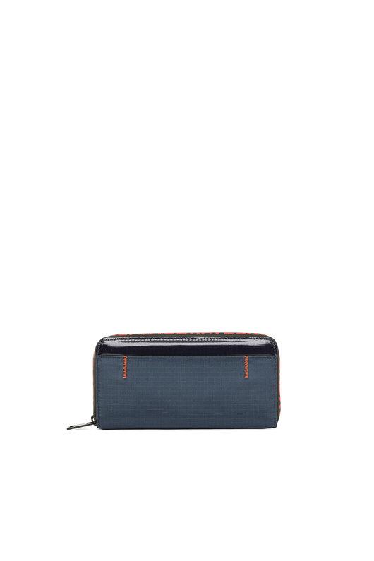 Zip-around wallet in ripstop