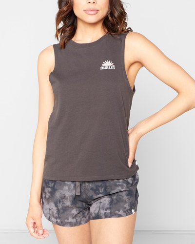 Summertime Sun Washed Muscle Tank