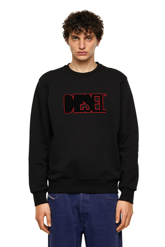 Green Label sweatshirt with logo patch