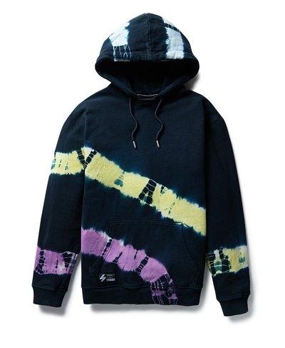 Unisex Code Tie Dye Hood