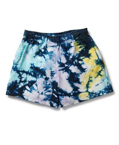 Unisex Code Tie Dye Sweat Short