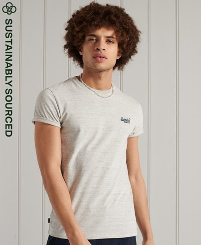 Organic Cotton Vintage Embroidery T-Shirt