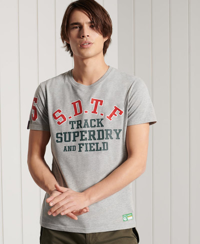 Lightweight Track & Field Graphic T-Shirt