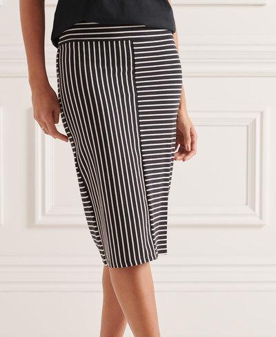 Classic Jersey Midi Skirt