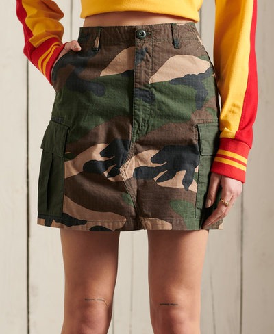 Straight Cargo Skirt