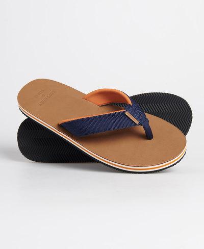 Surf Leather Flip Flops