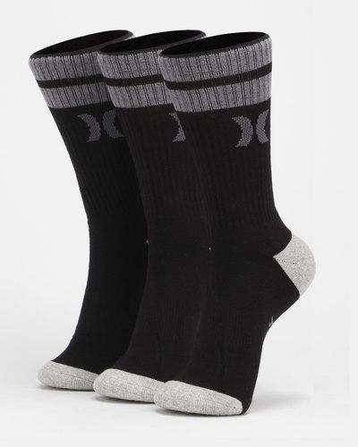 3Pk Mens 1/2 Terry Crew Sock