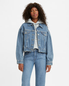 Levi's® Women's Pleated Sleeve Trucker Jacket