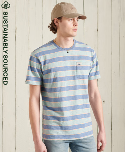 Organic Cotton Cali Surf Relaxed Fit T-Shirt