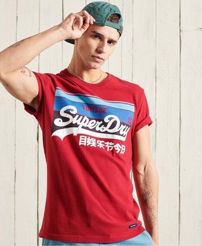 Vintage Logo Cali Stripe T-Shirt