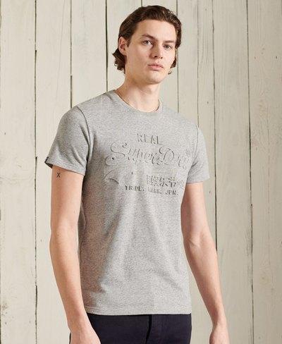 Vintage Logo Embossed T-Shirt