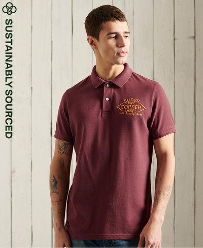Organic Cotton Short Sleeve Superstate Polo Shirt