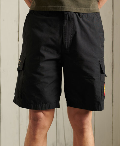 Patched Alpha Cargo Shorts