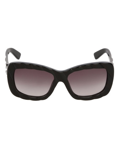 2eb614fd963 Diesel Oversized Sunglasses Black